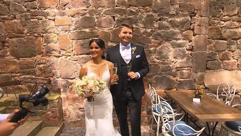 Kattia Vides und Patrick Weilbach haben geheiratet.