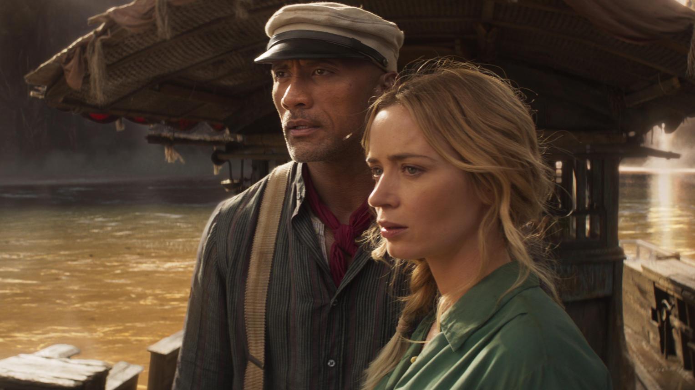 Dwayne Johnson ist Frank und Emily Blunt ist Lily in Disneys Jungle Cruise.