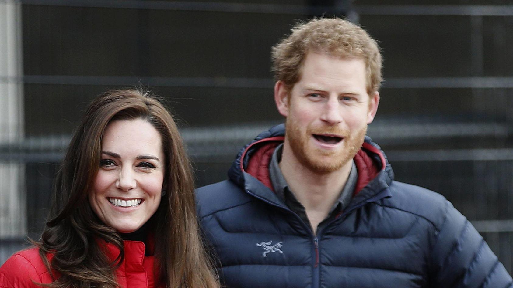Kate tritt in die Fußstapfen von Prinz Harry
