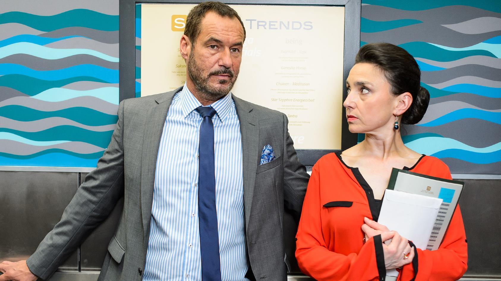 Seit der ersten Folge an sind Richard und Simone Steinkamp bei AWZ dabei.