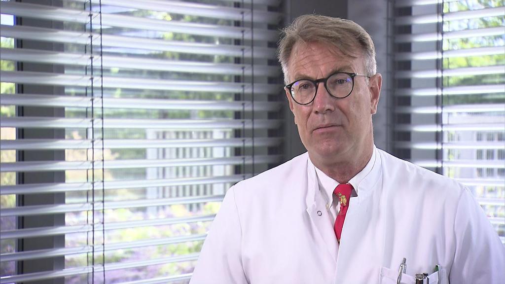 : Dr. Georg-Christian Zinn, Direktor Hygienezentrum Bioscientia