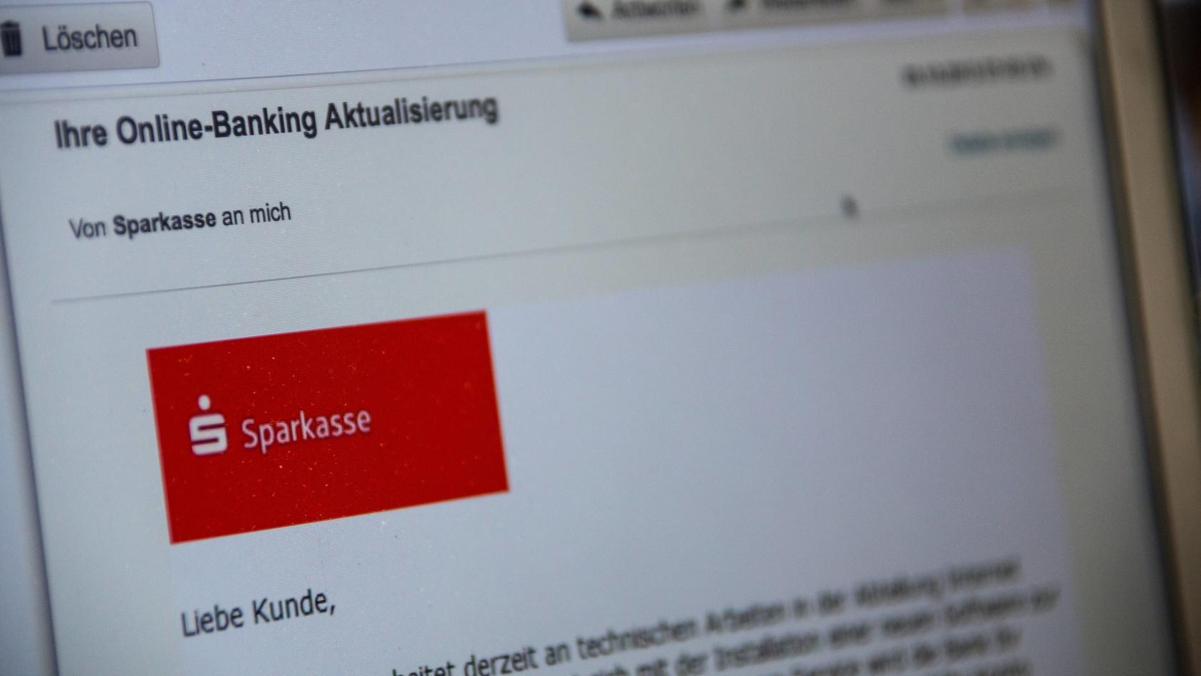 Vorsicht! Sogenannte Phishing-Seiten können täuschend echt aussehen.