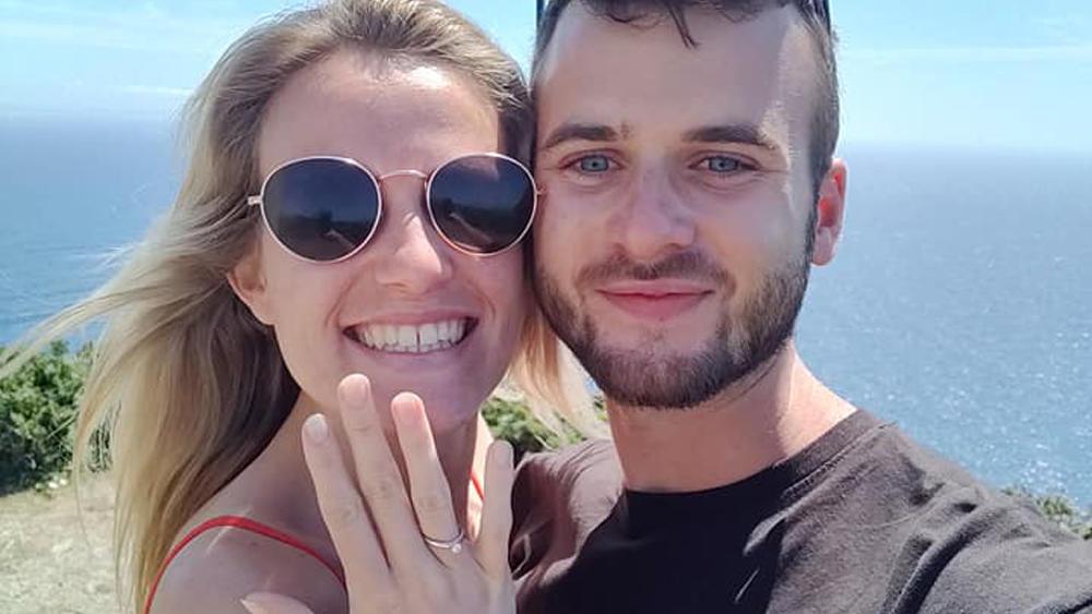 Damals ahnten sie noch nichts: Ryan macht seiner Kate einen Heiratsantrag. Kurz darauf folgt die erschütternde Diagnose.