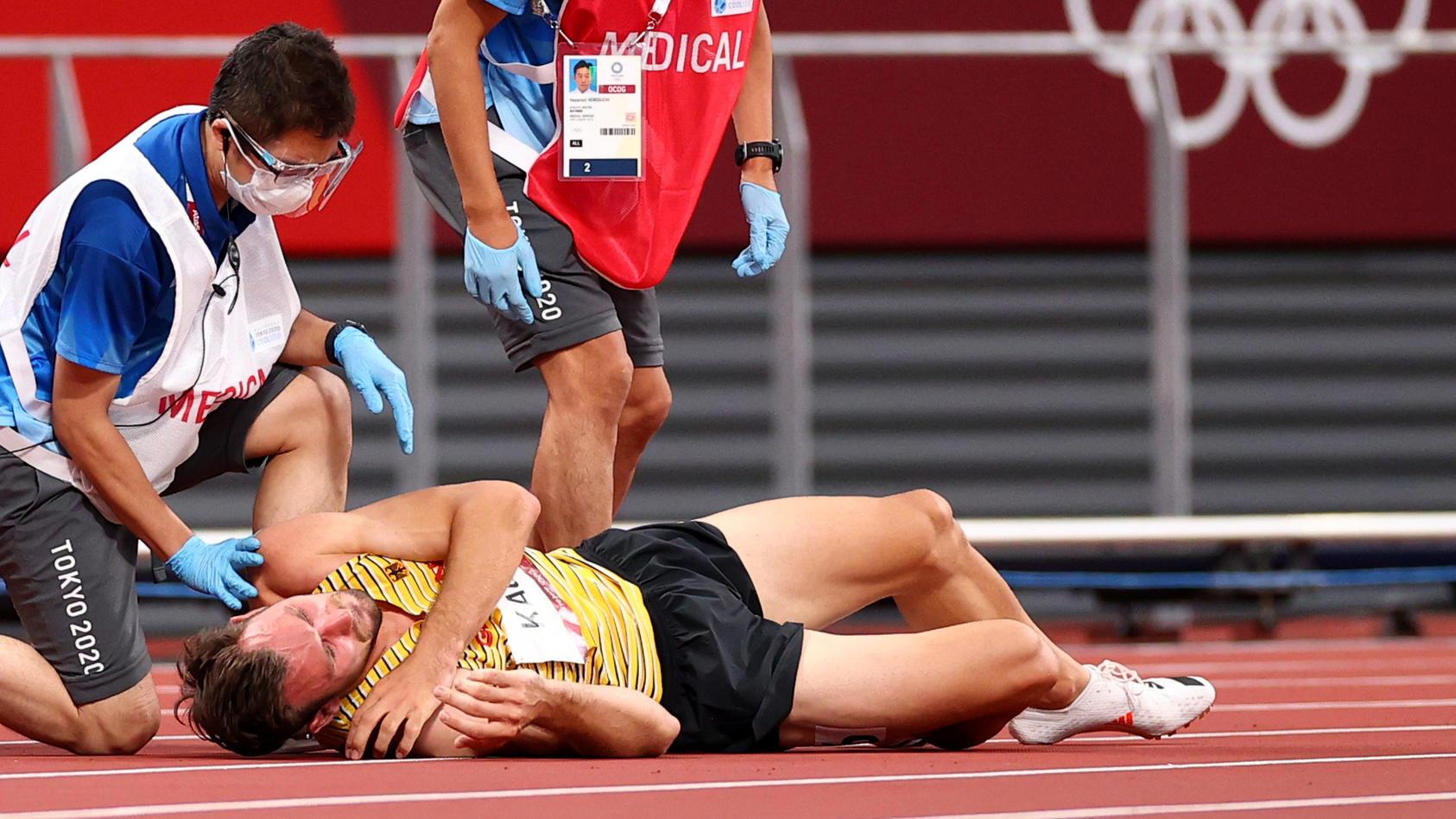 Niklas Kaul muss seinen Medaillentraum begraben.