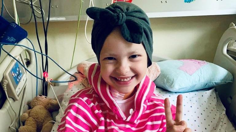 Emilia im Krankenhaus