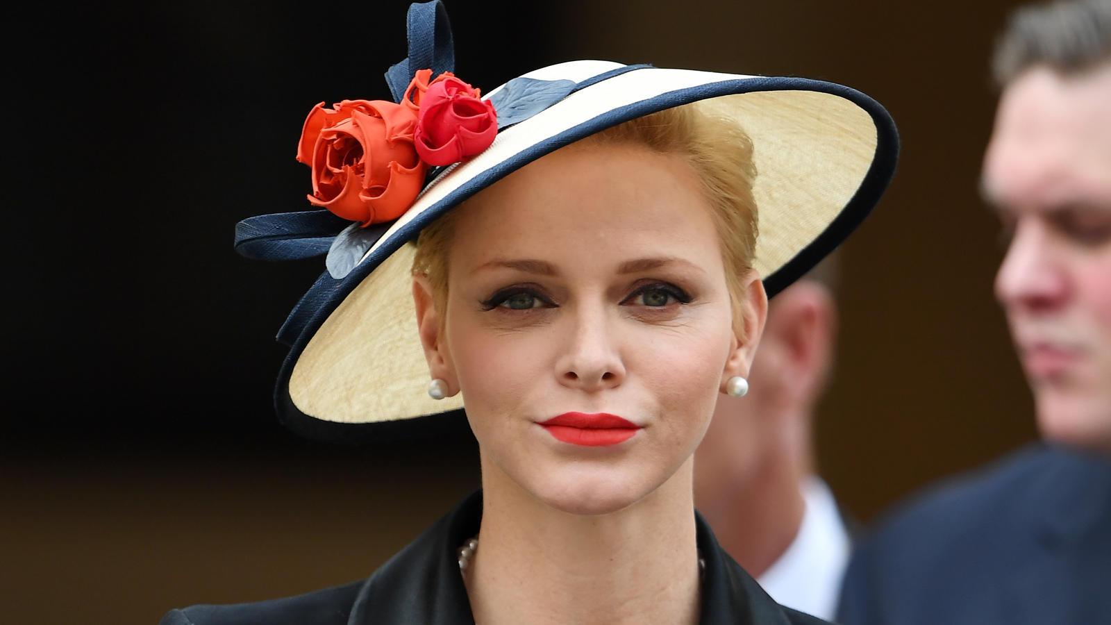 Charlène von Monaco sendet Grüße nach Monaco