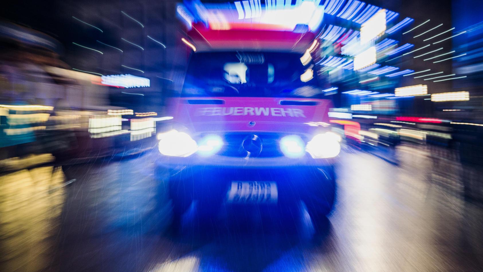Krankenwagen der Feuerwehr, Symbolfoto.