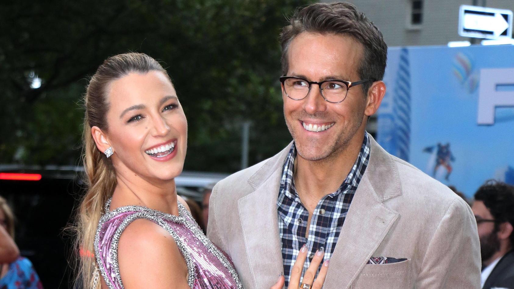 """So sexy macht Blake Lively Werbung für Ryan Reynolds' neuen Film """"Free Guy"""""""