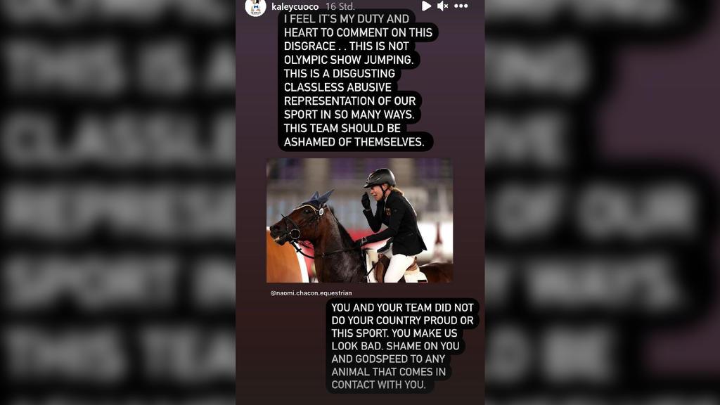 Kaley Cuoco will Olympia-Pferd kaufen