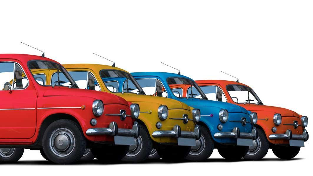 Die Autofarbe beeinflusst den Preis bei Gebrauchtwagen