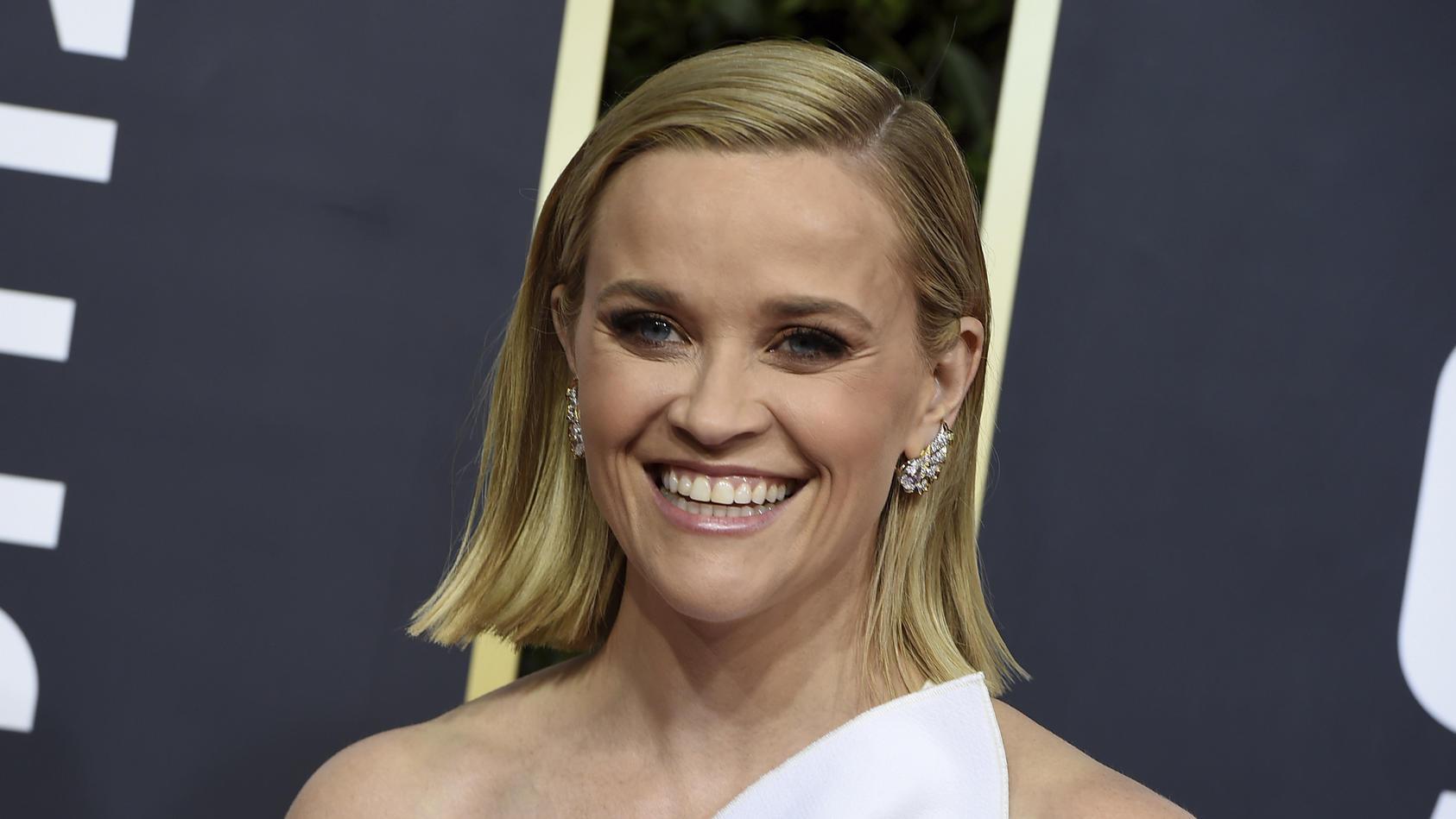 Reese Witherspoon zeigt ihre Familienähnlichkeit.