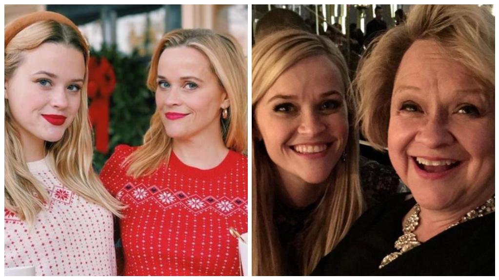 Oma Betty, Mama Reese und Tochter Ava: Die verblüffende Ähnlichkeit zieht sich bei Familie Witherspoon über drei Generationen.