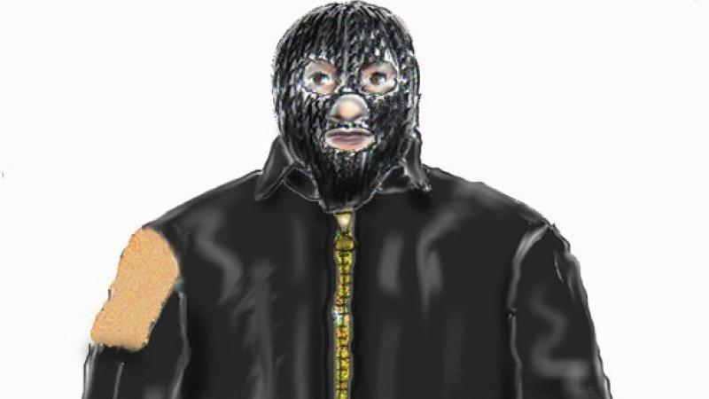 """Mit diesem Phantombild suchte die Polizei jahrelang nach dem """"Maskenmann""""."""