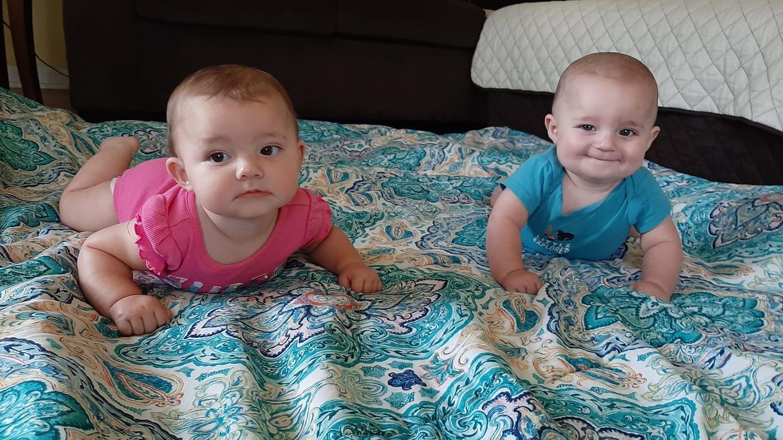 Die Zwillinge Ryan und Rileigh  starben beim Flutdrama in Tennessee.