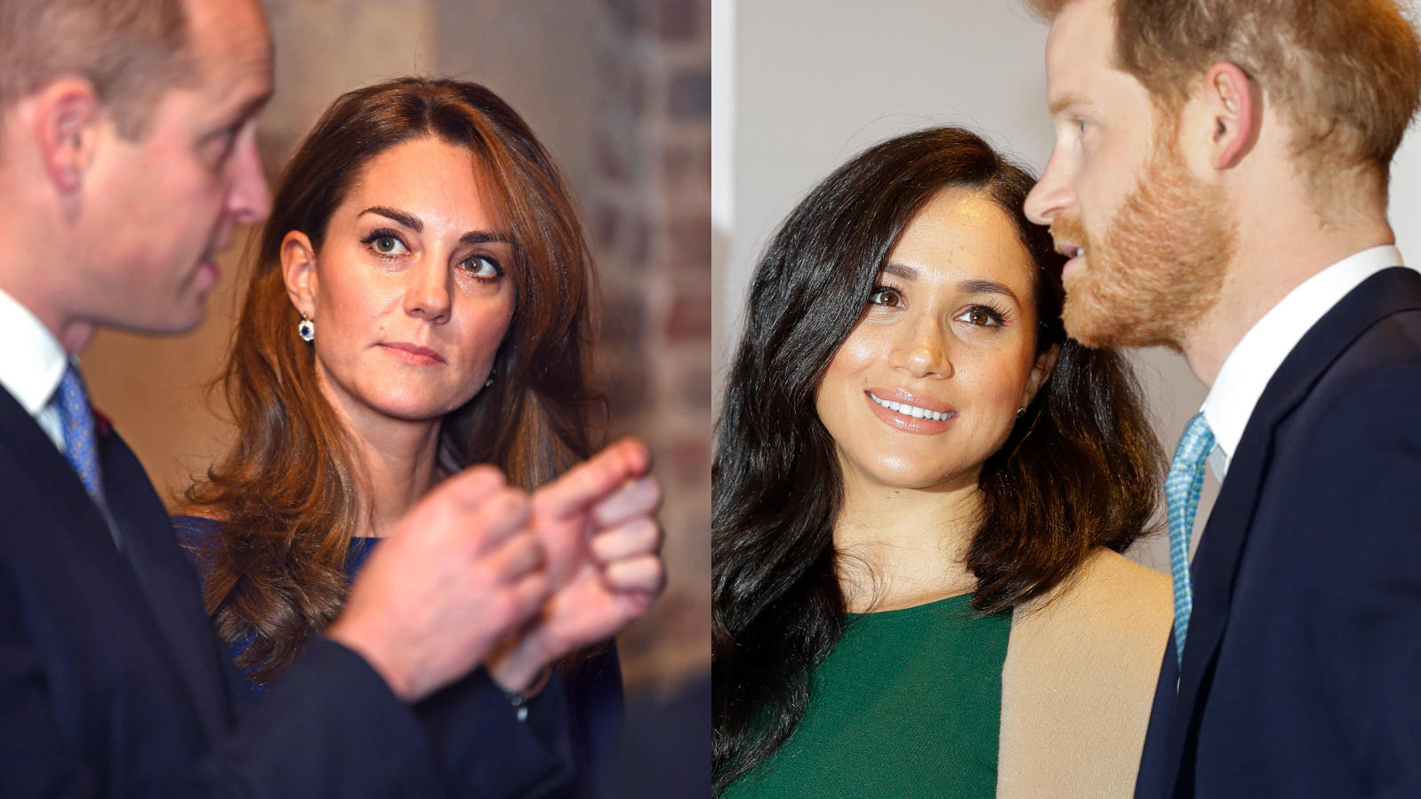 Prinz William, Herzogin Kate, Herzogin Meghan und Prinz Harry sollen sich wieder angenähert haben.
