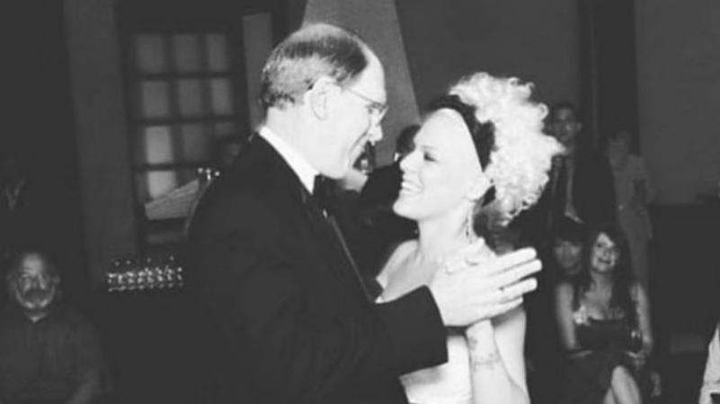 Rührender Erinnerungs-Post an Pinks verstorbenen Vater Jim Moore