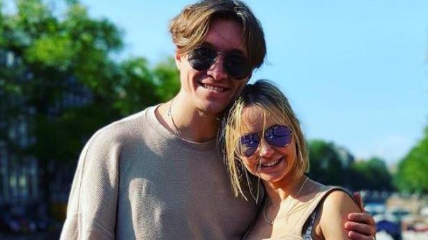 Evgeny Vinokurov und seine Verlobte Nina freuen sich auf ihr erstes Kind.