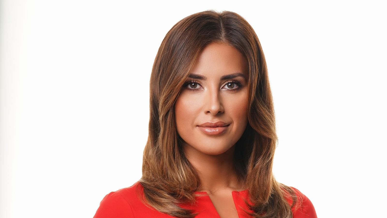 RTL-Moderatorin Jana Azizi