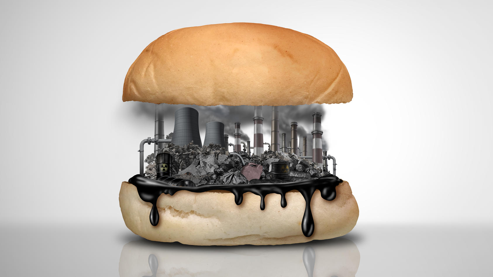 Viele Umweltgifte können sich auch in Lebensmitteln verstecken und langfristig zu Krebs führen.