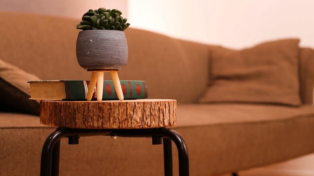 Auch dieses Möbelstück ist schnell gemacht.