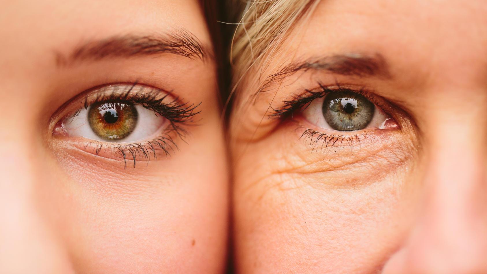 Unser wahres Alter sieht man uns nicht unbedingt an.