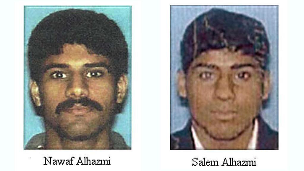 Die Brüder Nawaf und Salem al-Hazmi kauften bei Vaughn Allex Tickets für Flug AA 77, der am 11. September 2001 ins Pentagon gesteuert wurde.