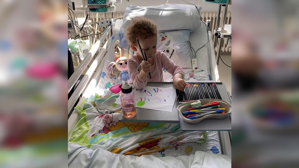 Clara Heil aus Hattersheim im Krankenhaus