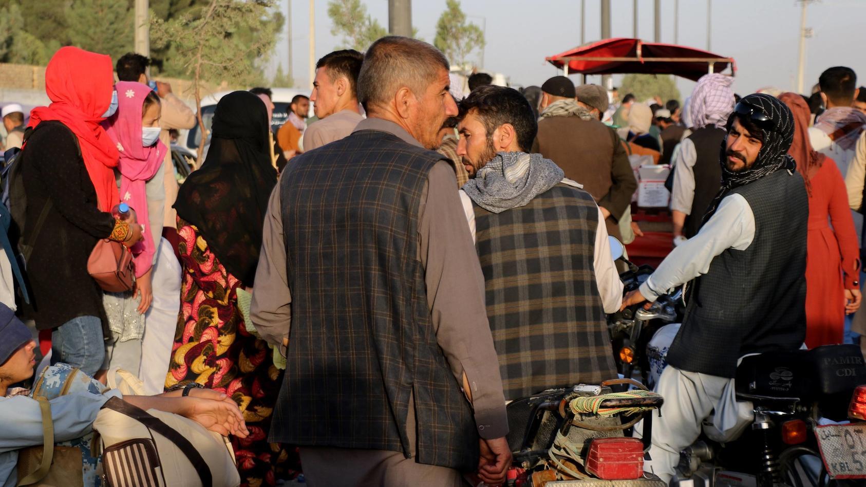 Für die im Land gebliebenen Afghanen dürfte die Nahrung Ende September knapp werden, so die Vereinigten Nationen.