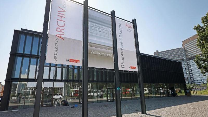 Das neue Historische Archiv in Köln. Foto: Oliver Berg/dpa