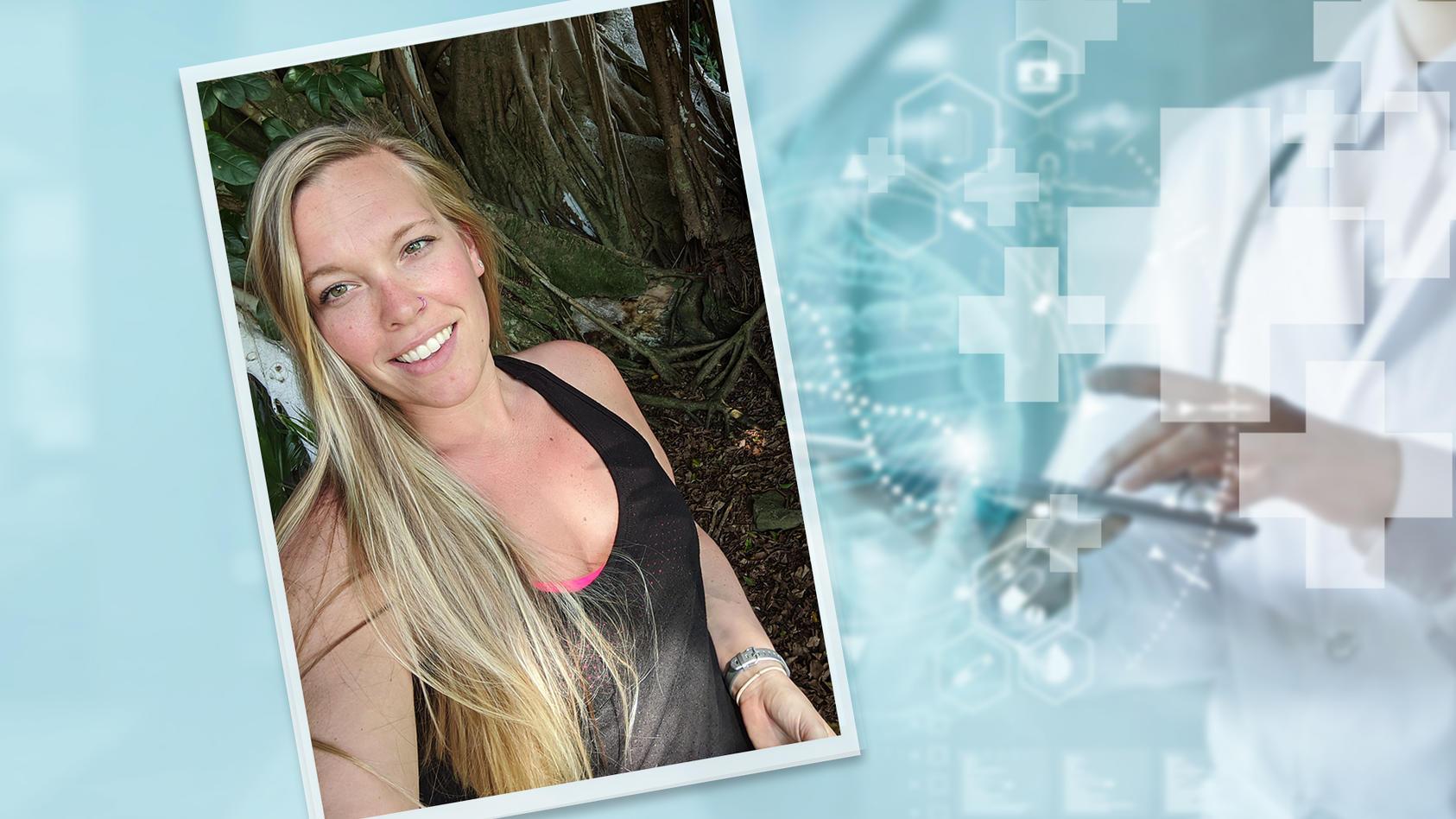 Sarah Southern aus North Carolina (USA) wurde von ihrem Freund sitzen gelassen, weil sie Krebs hatte.