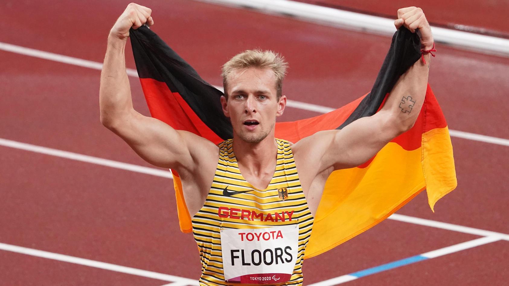 Johannes Floors sprintete über 400m zu Gold