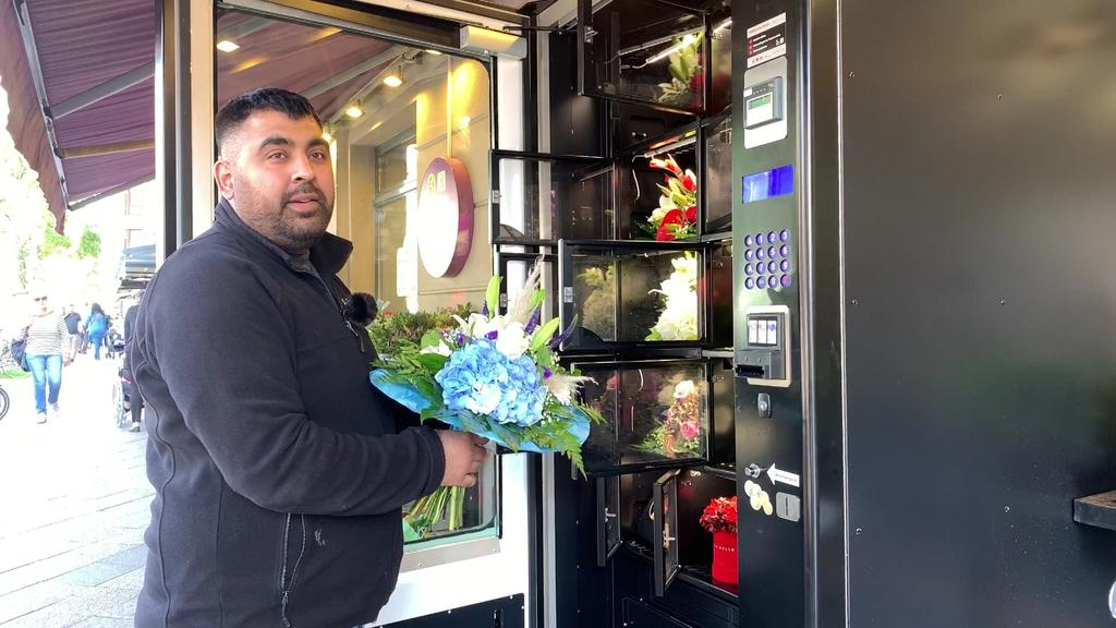Berlin Blumen-Automat
