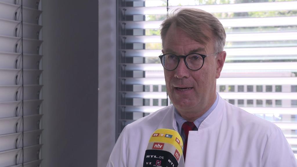 Dr. Georg-Christian Zinn, Direktor des Hygienezentrums Bioscientia