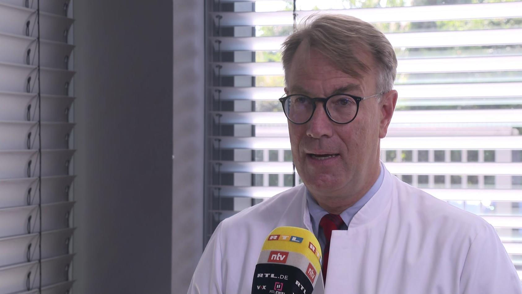 Dr. Georg-Christian Zinn, Direktor des Hygienezentrums Bioscientia, hält Masken in Kitas für sinnvoll.