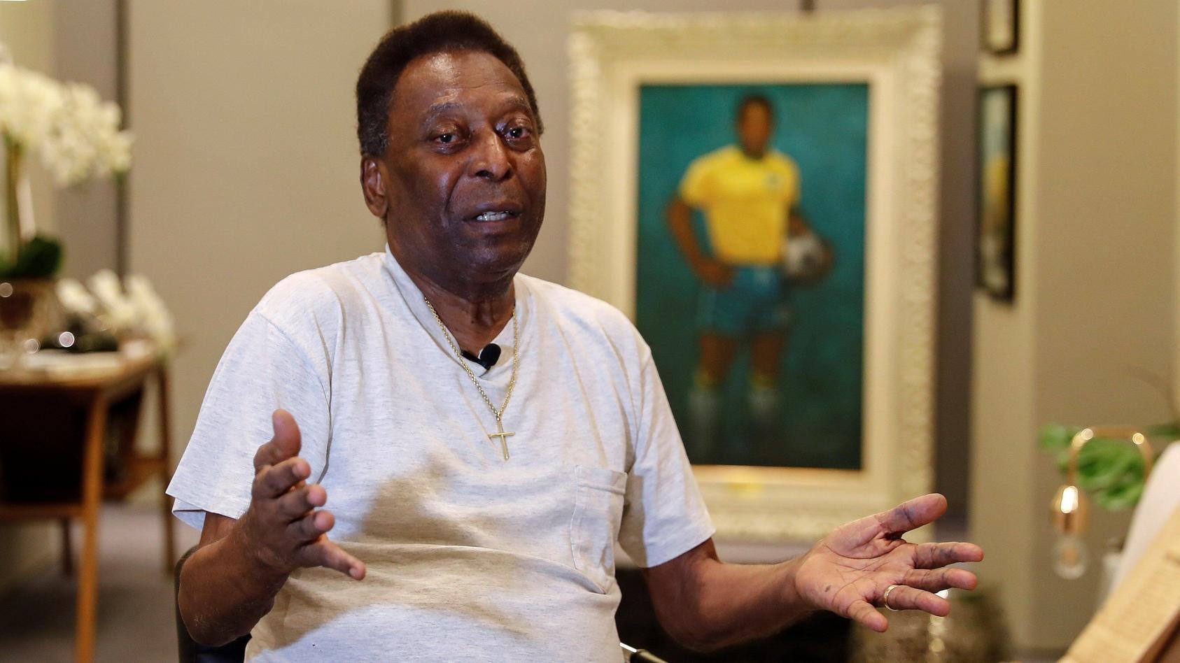 Für viele der größte Fußballer alle Zeiten: Pelé.