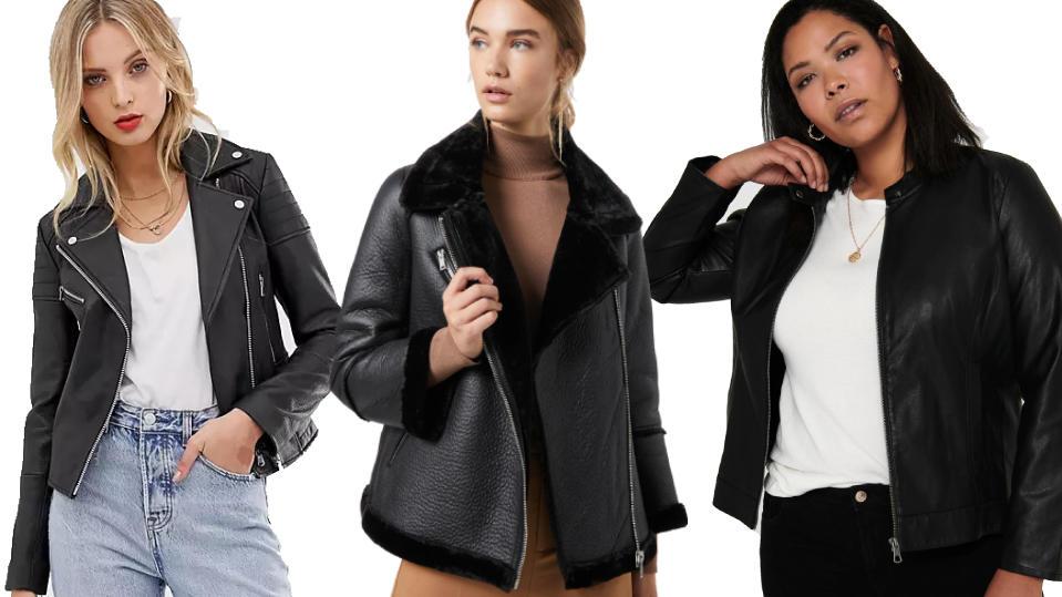 Für jede Figur gibt es die perfekte Lederjacke - wir haben die Tipps, wie Sie Ihr Modell finden!