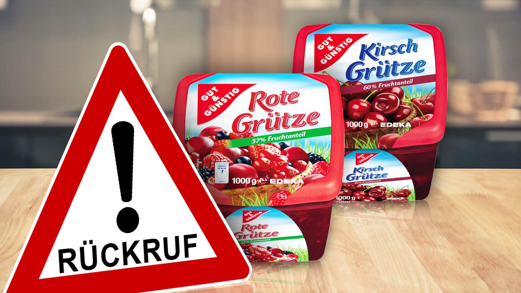 In den Produkten wurde bei Untersuchungen teilweise das Abbauprodukt eines Pflanzenschutzmittels nachgewiesen.