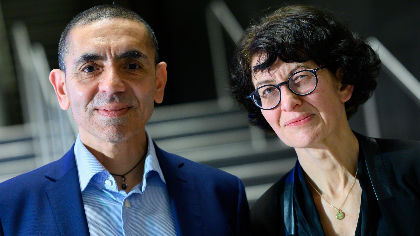 Ugur Sahin und Özlem Türeci haben Biontech gegründet.