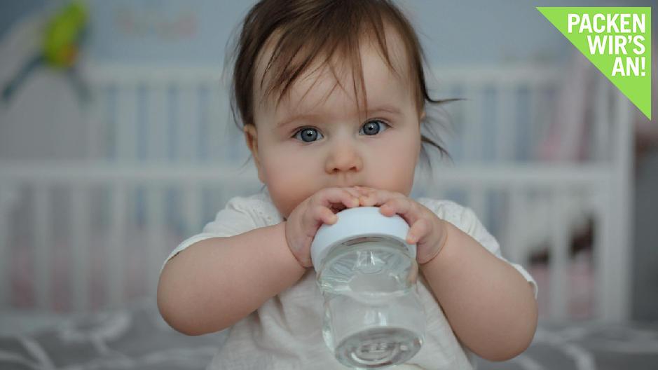 Welches Wasser ist für Babys und Kleinkinder richtig?
