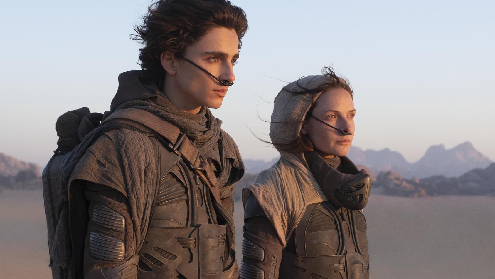 """""""Dune"""" mit Timothée Chalamet und Rebecca Ferguson"""