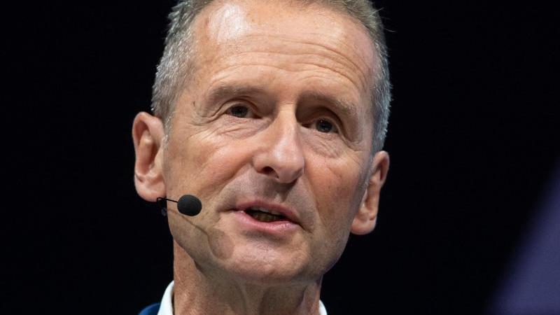 Herbert Diess, Vorstandsvorsitzender von Volkswagen.