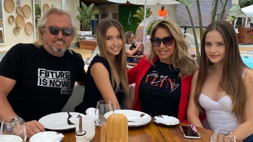 Shania und Davina Geiss bekommen wie ihre Eltern Robert und Carmen bald ihre eigene TV-Show.
