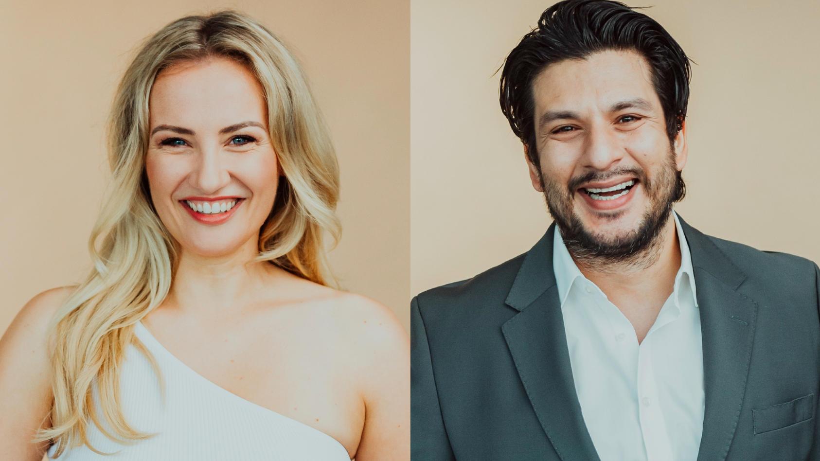 Die AWZ-Stars Ania Niedieck und Francisco Medina stellen sich den Fragen der Fans.