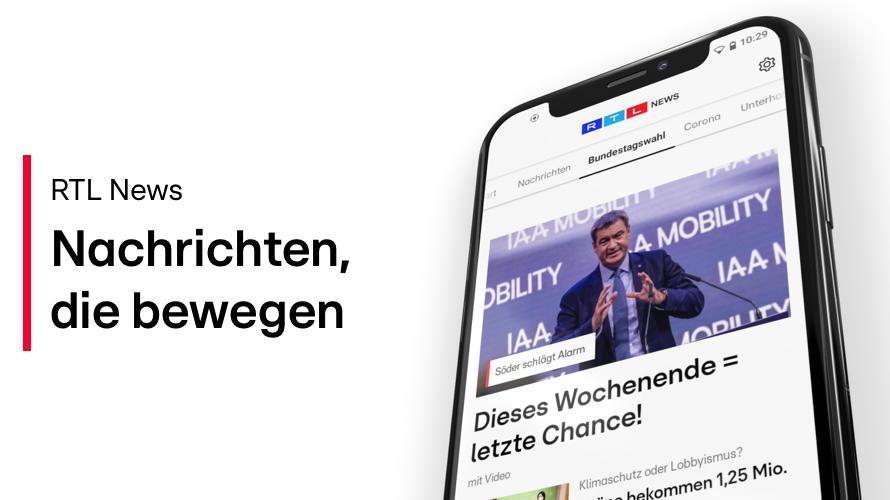 RTL News - fokussiert auf die Inhalte