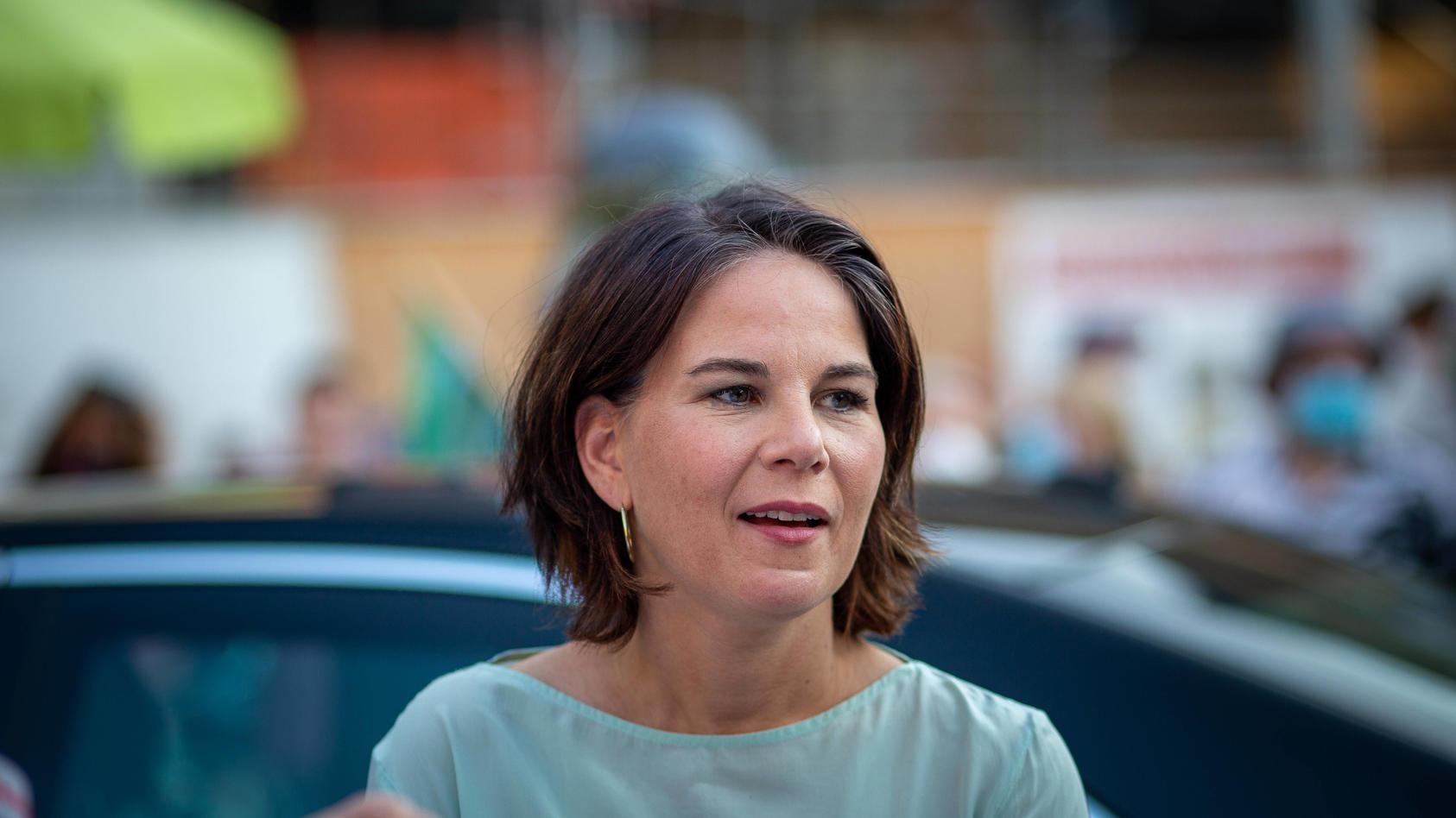 Annalena Baerbock im Wahlkampf