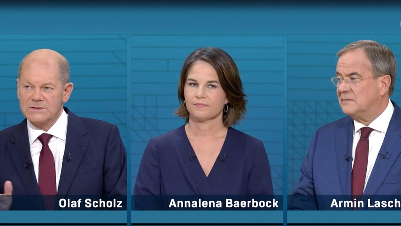 Olaf Scholz, Annalena Baerbock und Armin Laschet: Laut Plagiatsjäger Stefan Weber haben sie alle drei in ihren Büchern Teile abgeschrieben.