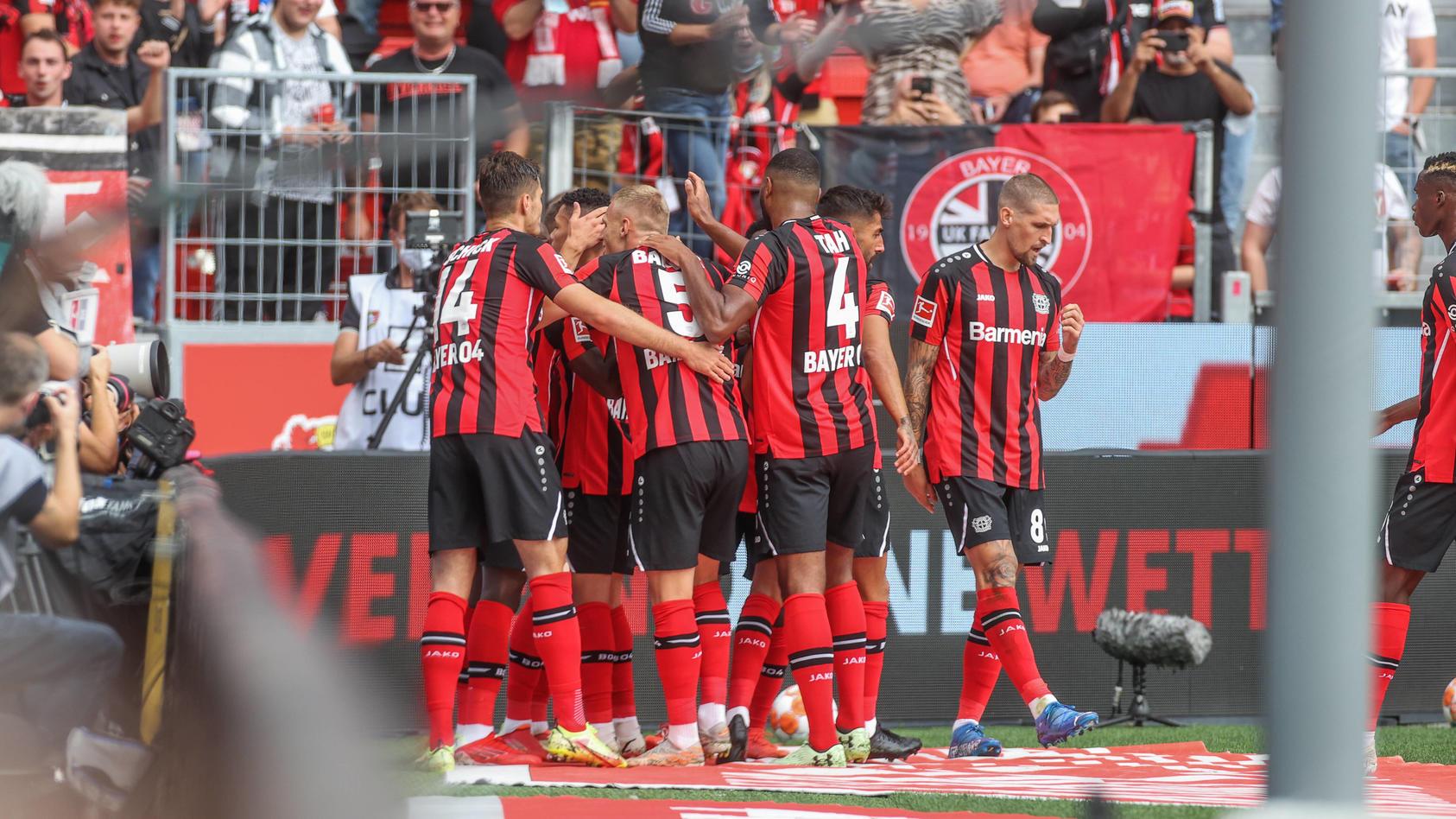 Bayer Leverkusen tritt neben der Bundesliga auch in der UEFA Europa League an