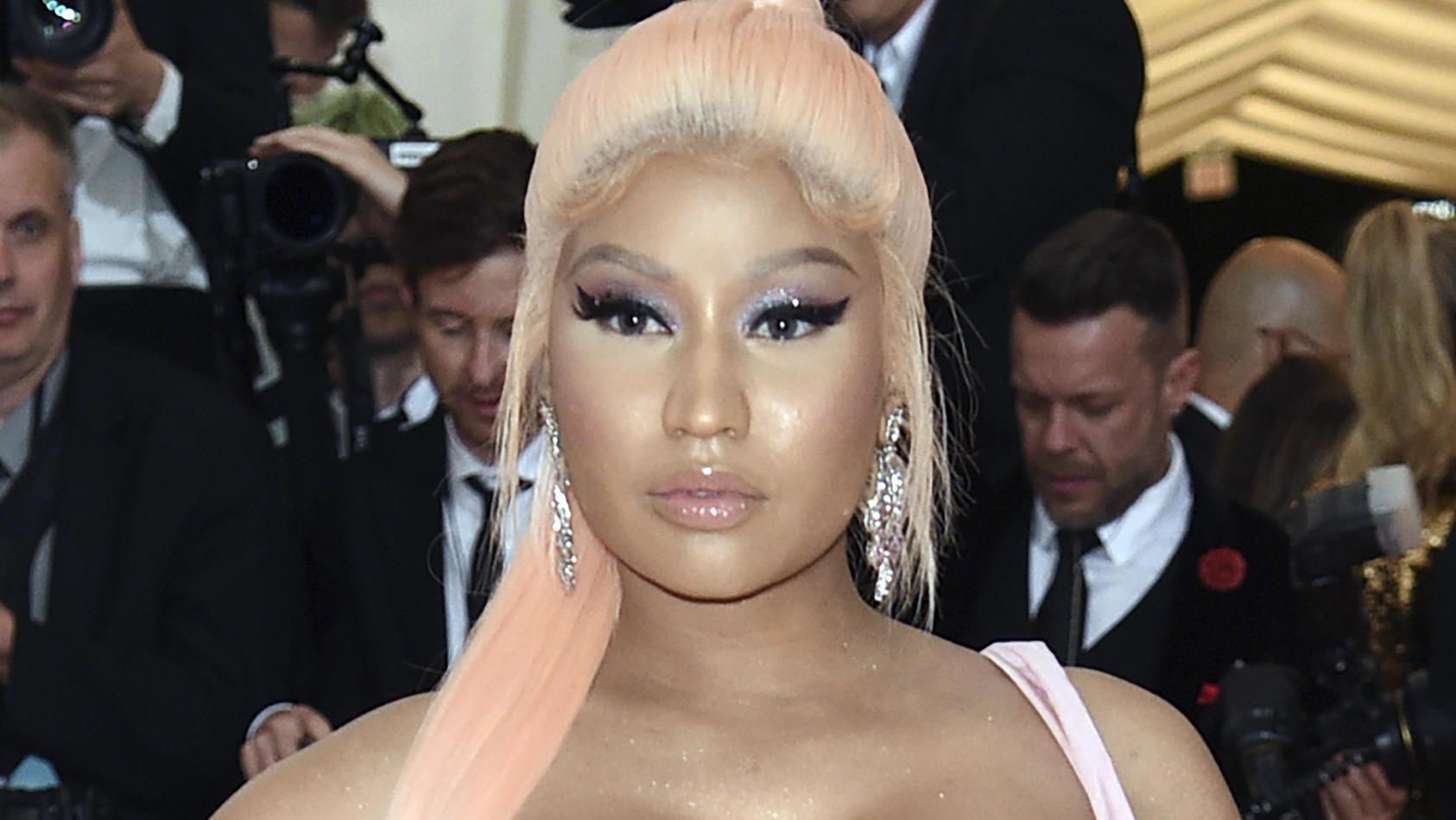 Nicki Minaj bei der MET-Gala 2019 - dieses Jahr blieb sie fern.
