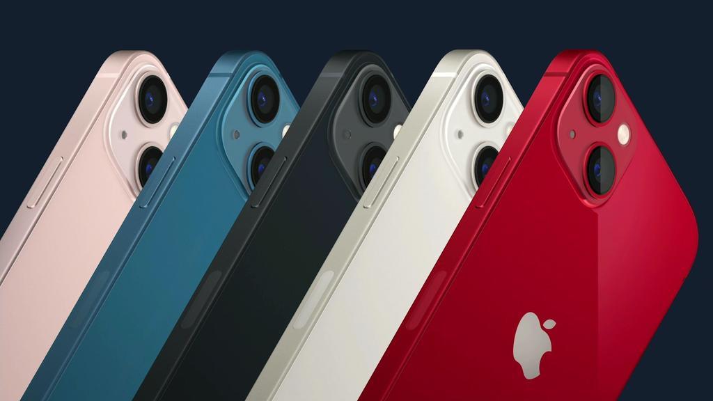 Apples neues iPhone kommt in verschiedenen Farben