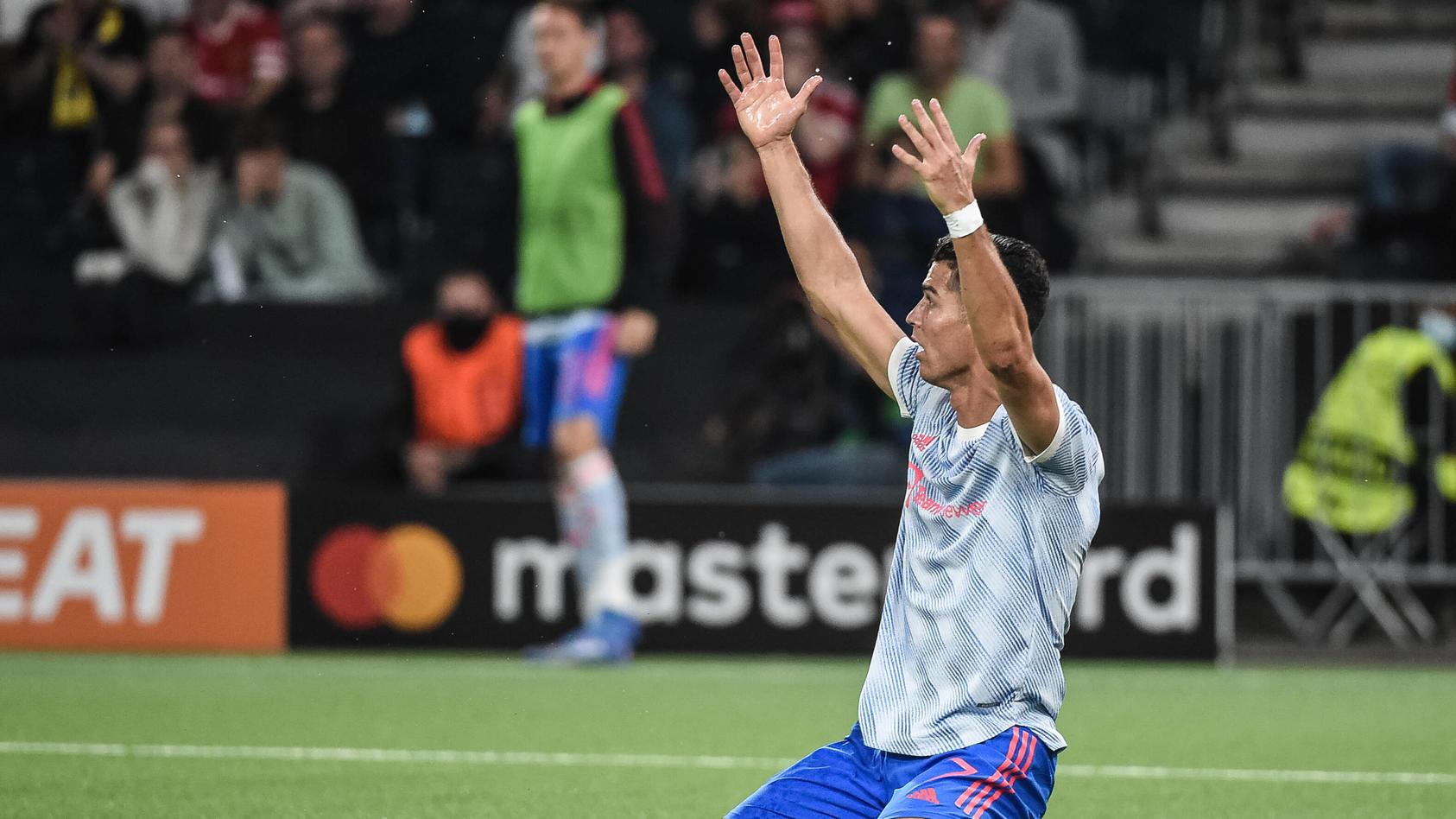 Trotz seines Tores war es ein gebrauchter Abend für Cristiano Ronaldo in Bern.